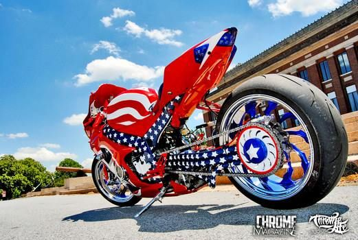 Single Side Swing Arm With Custom Paint To Match The