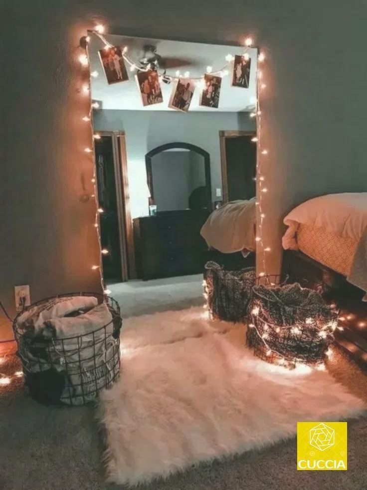 30 Cute Dorm Room Decorating Ideas That Looks Very Elegant Artificial fir tree as Christmas decoration A synthetic Christmas Tree or a real one Lovers of art 30 Cute Dorm...