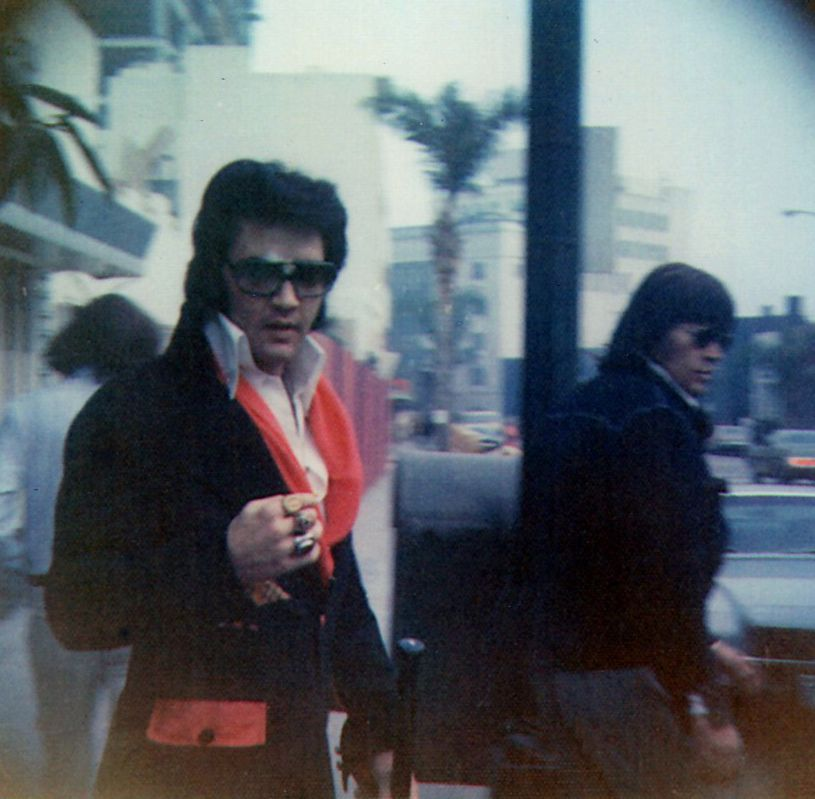November 27, 1971 Leaving the eye doctors office after being treated for glaucoma Beverly Hills
