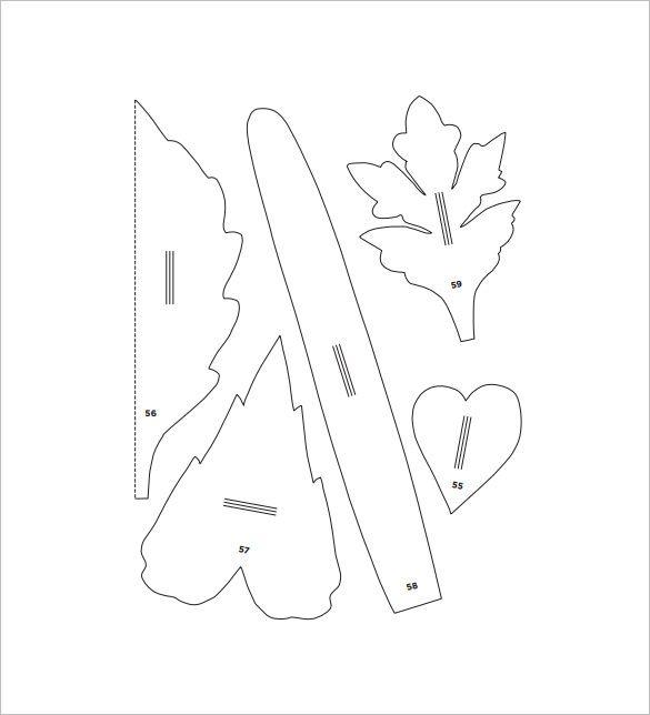 Flower Petal Template - 27+ Free Word, PDF Documents Download - flower petal template