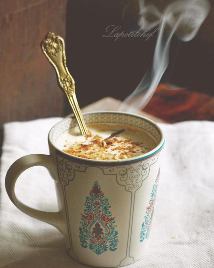 Pumpkin Spice White Chocolate Latte