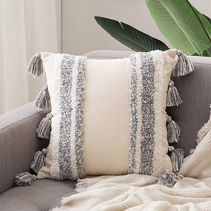 MIULEE Decorative Throw Pillow Cover
