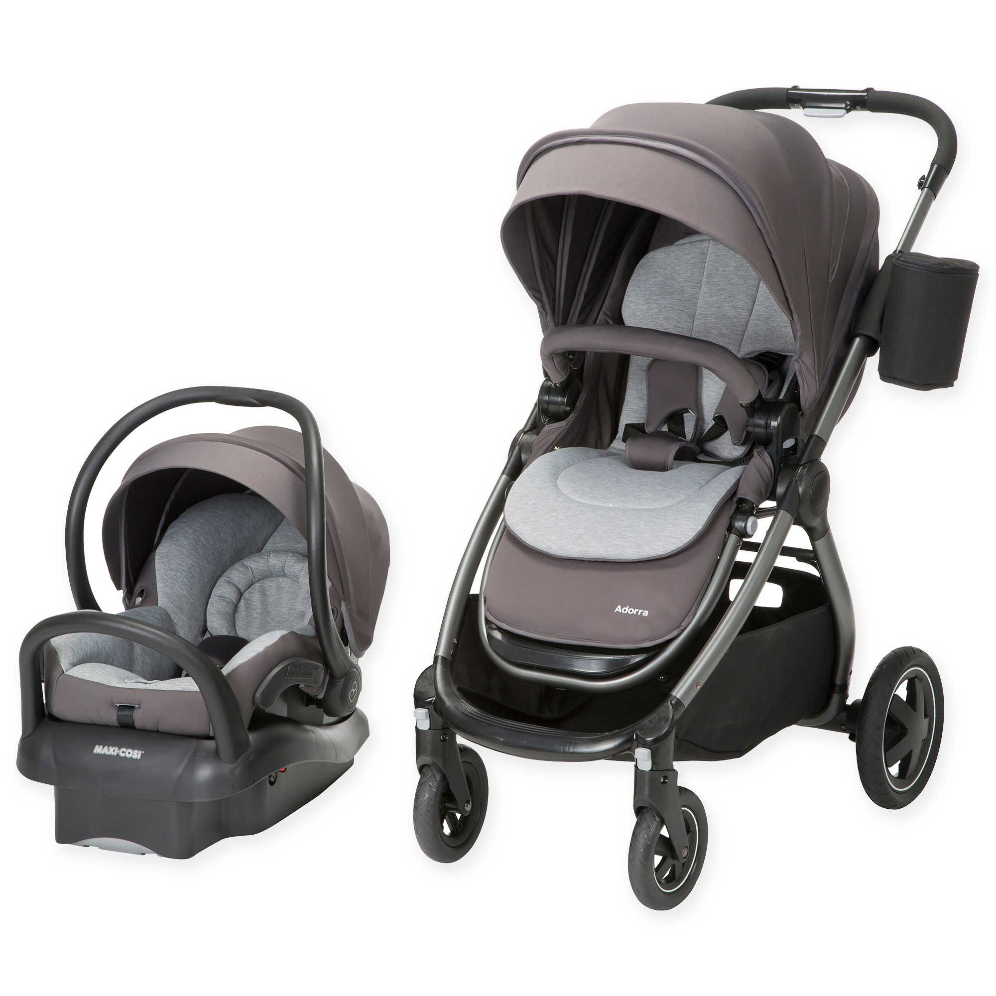 MaxiCosi® Adorra Travel System in Loyal Grey Baby car