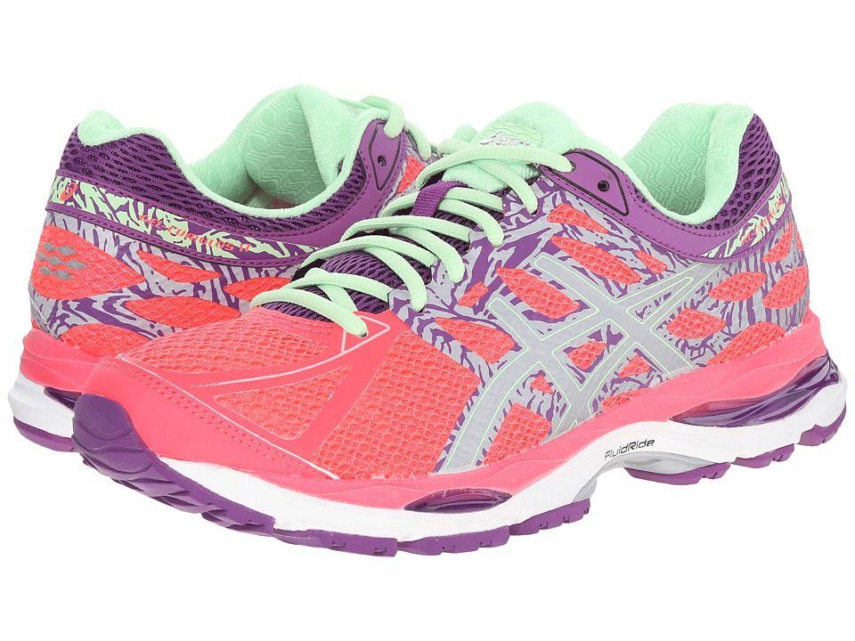 ASICS Gel-Cumulus 17 Lite-Show Diva Pink/Silver/Grape B - Medium Women's Running Shoes 8523723