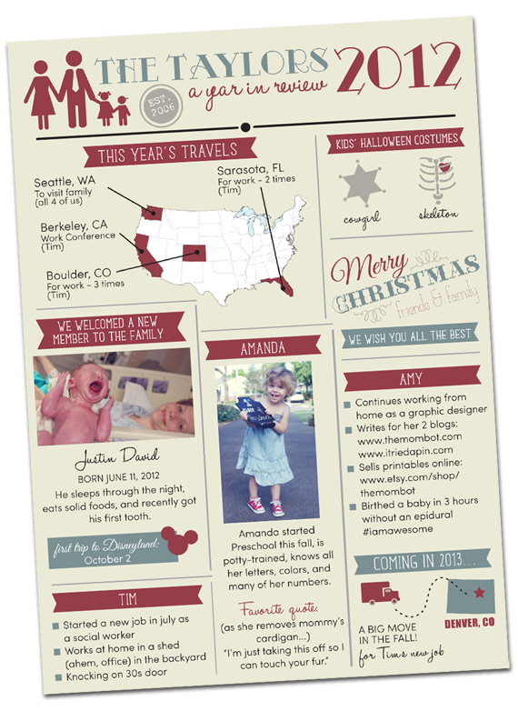 Diy Envelope Photo Liner Infographic Christmas Card The Mombot Printable Christmas Cards Custom Christmas Cards Christmas Newsletter