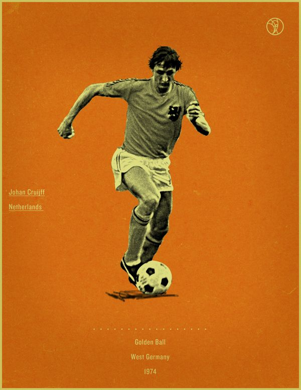 World Cup History Of The Golden Ball By Jon Rogers Via Behance World Cup Football Marketing Soccer Poster