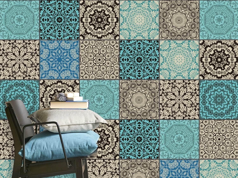 Piastrelle marocchine. collezione porcellana di casa dolce casa
