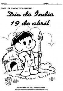 Dia Do Indio Data Marcante E Importante 19 Abril Atividade Dia
