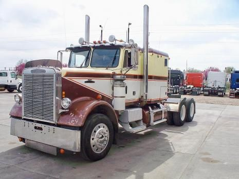 Freightliner Cabover Pictures Used 1980 Freightliner Fld13242t Heavy Duty For Sale In Colorado Freightliner Freightliner Trucks Big Trucks