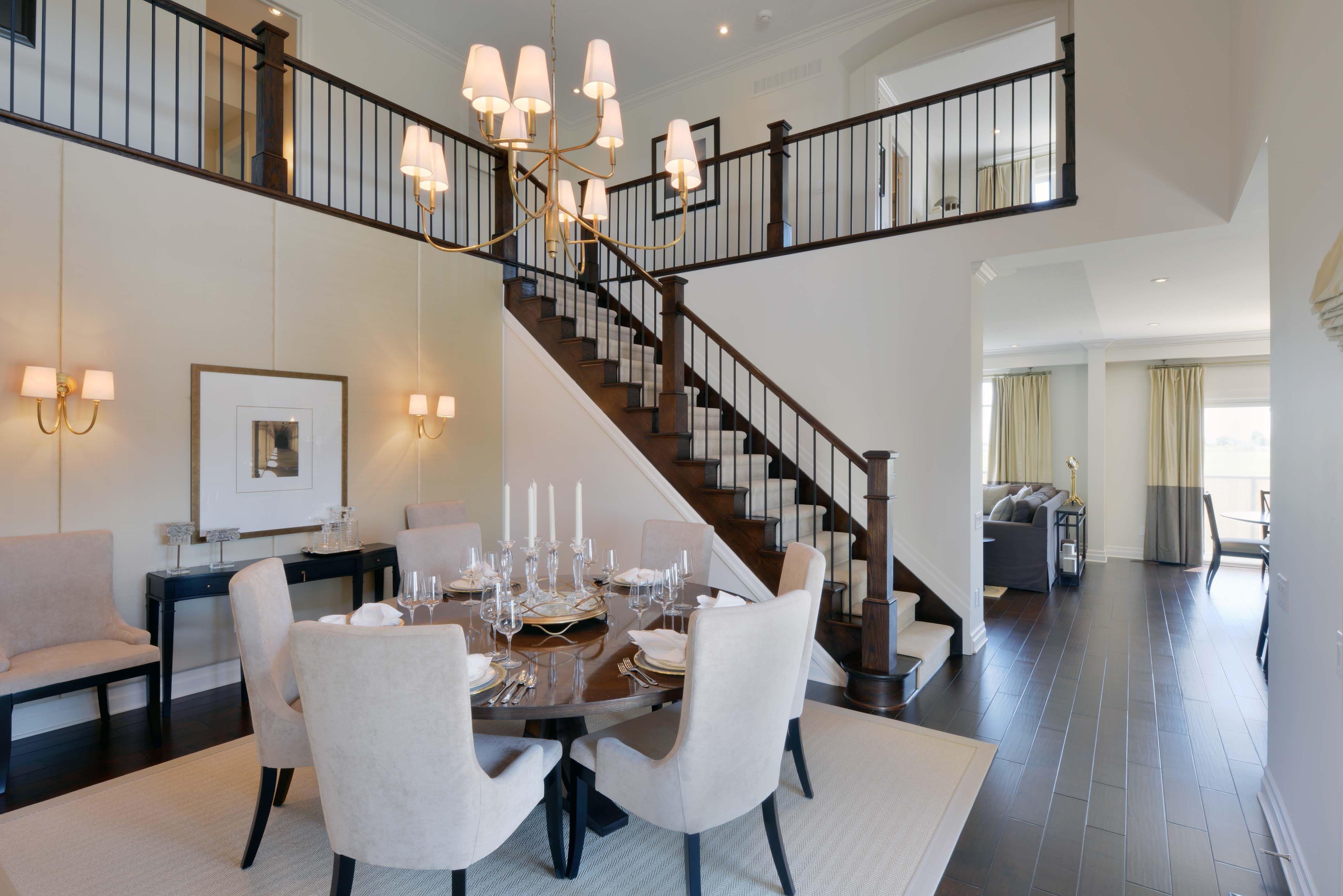 blackstone homes model dining area monarch ottawa kanata dining - Blackstone Home Design