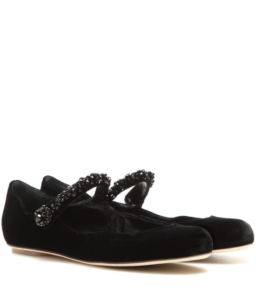 mary jane ballerinas - Black Rochas CqgfLFQxK