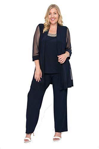 New R M Richards Long Formal Pants Suit Plus Size Dress online ...