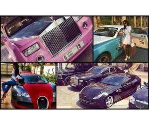 صور سيارات أبناء أثرياء مدينة دبي الساحرة Toy Car Photo Car