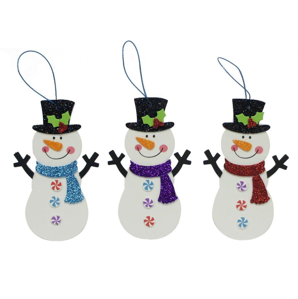 Get the Foam Snowman Kit By Creatology at Michaelscom Making
