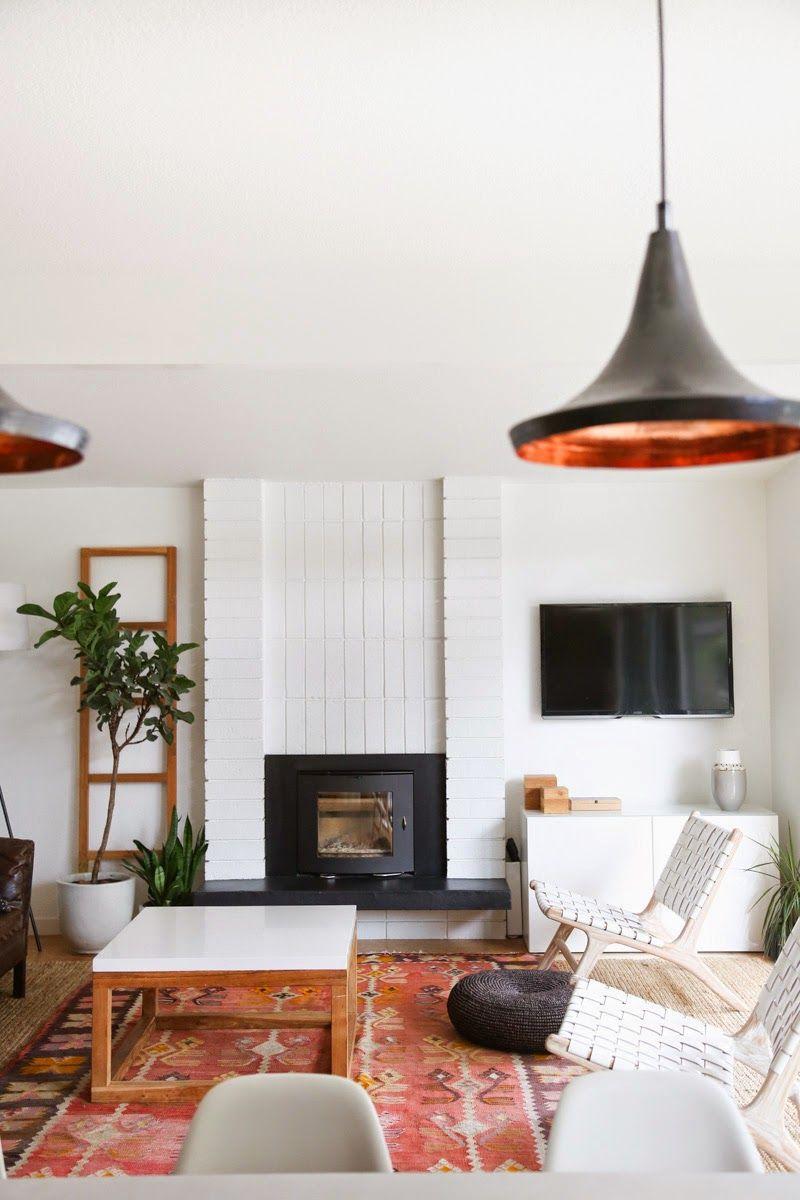 Modern living room living rooms pinterest house tours modern