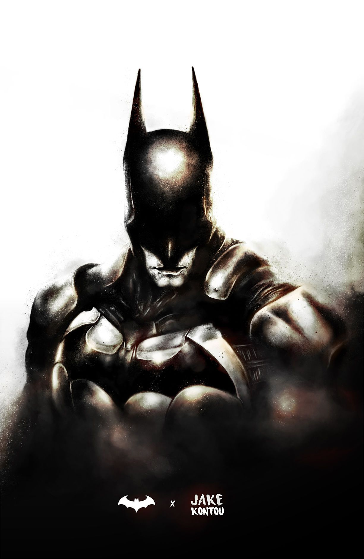 Batman by Creator Jake Kontou | comic by Emanuel Flores | Pinterest ...
