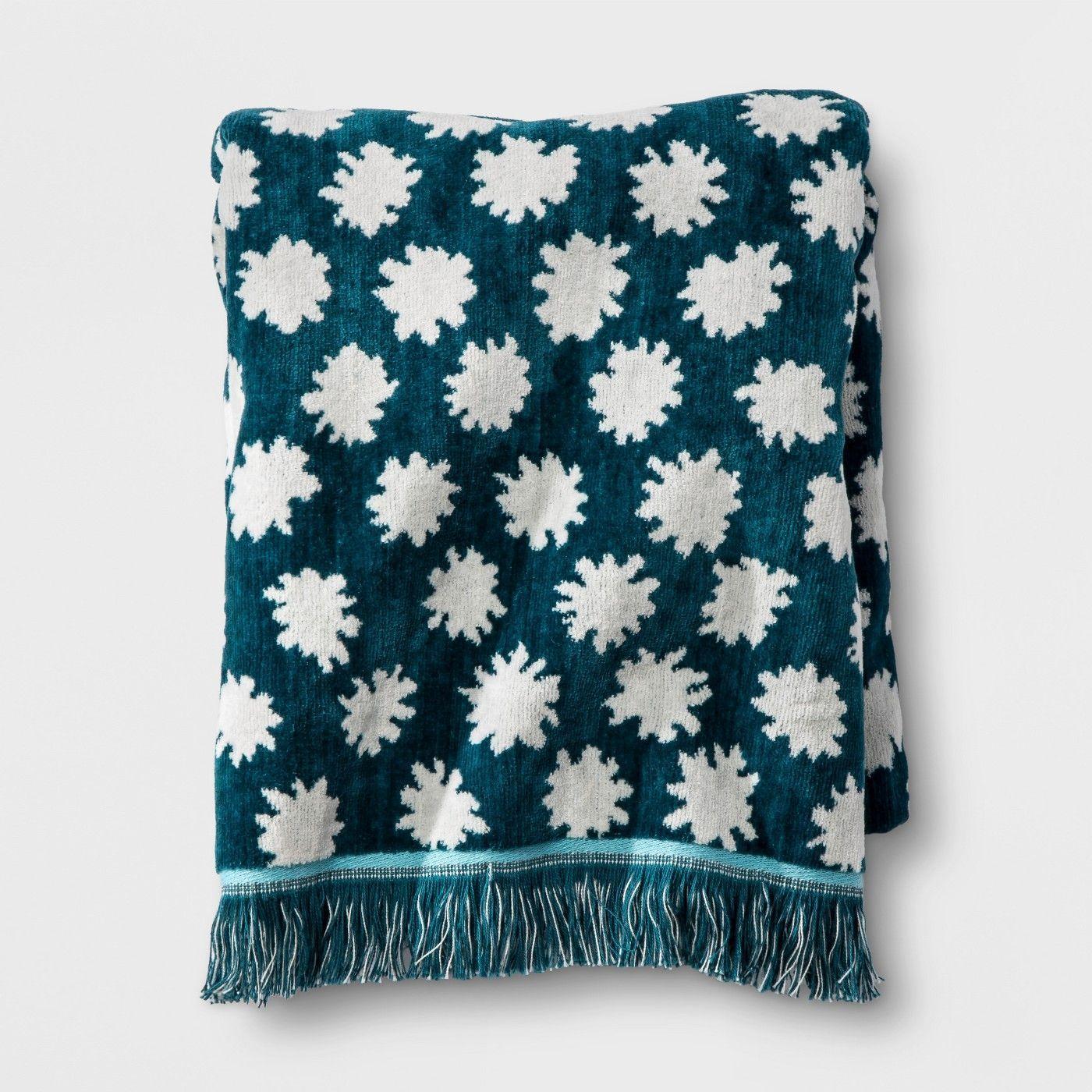 Opalhouse Sheered Floral Fringe Bath Towel Tar Home Home decor