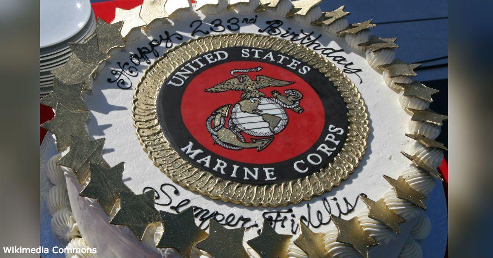 Marine Birthday2 Marine Corps Birthday Usmc Birthday Marine Cake