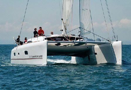 sailboat : cruising-racing catamaran TS 50' GA Xlight ...
