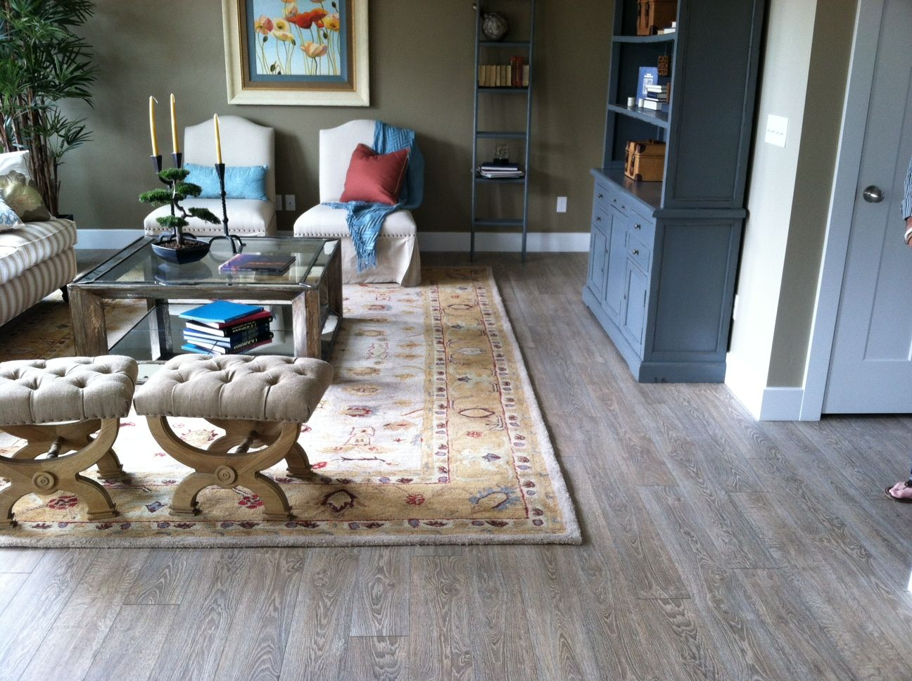Mannington Laminate Flooring Installation Part - 32: Believe It Or Not, This Is Manningtonu0027s Black Forest Oak Laminate In A  Model Home