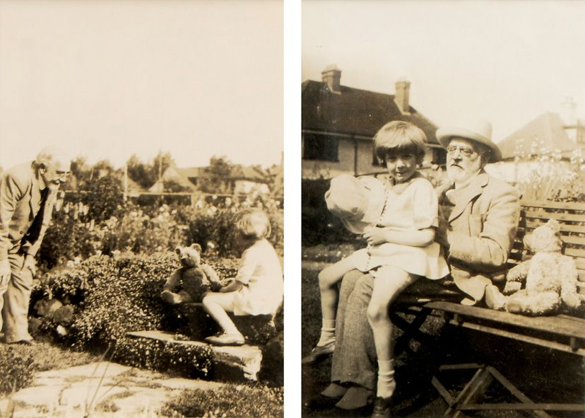 Original Photographs Of Christopher Robin And Pooh Winnie The