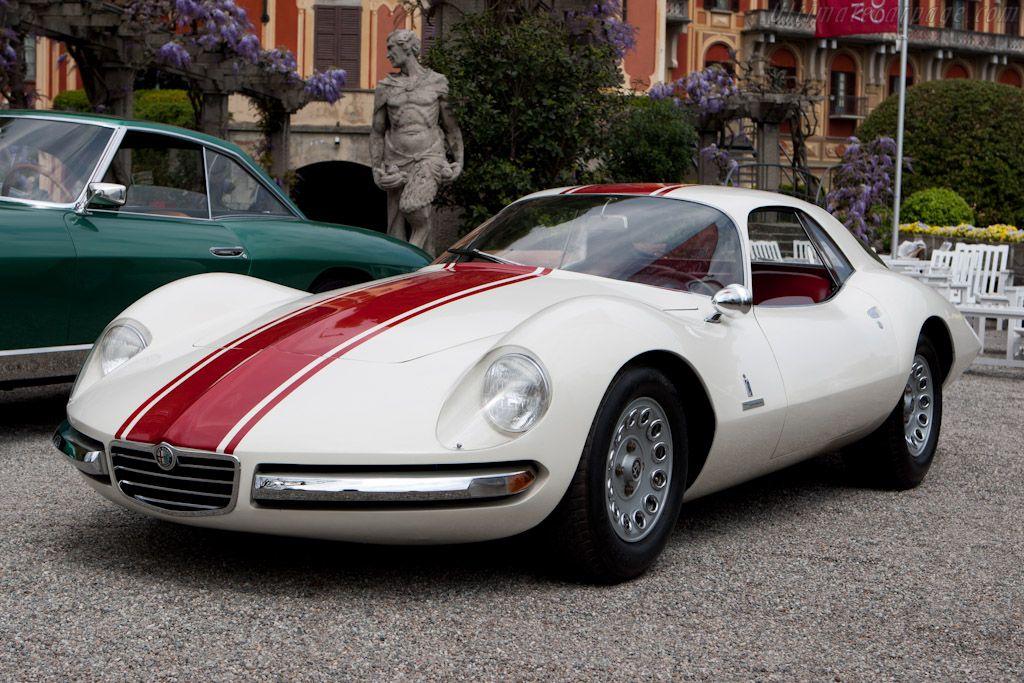 Alfa Romeo Giulia 1600 Sport (1965). Designer of this