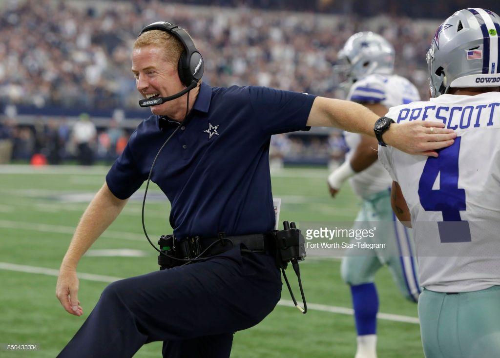 News Photo Dallas Cowboys head coach Jason Garrett