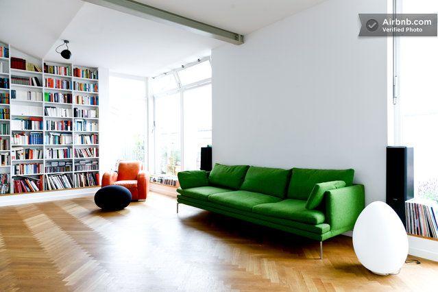 2 design bedrooms with great view in Berlin Library / Creative - design klassiker ferienwohnungen weimar