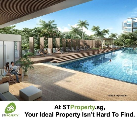Sky oasis at Jade Residences where residents escape from the stress and buzz of life