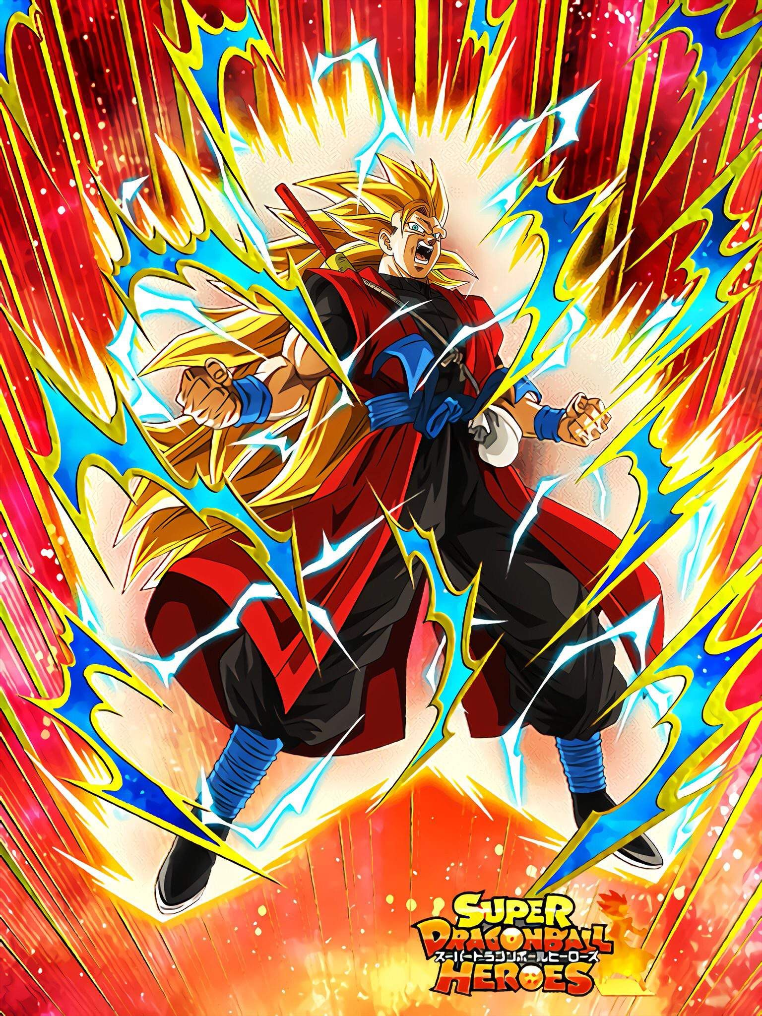 Super Saiyan 3 Goku Xeno Super Warrior Of Another Dimension Leader Skill Super Str Anime Dragon Ball Super Dragon Ball Artwork Dragon Ball Super Wallpapers