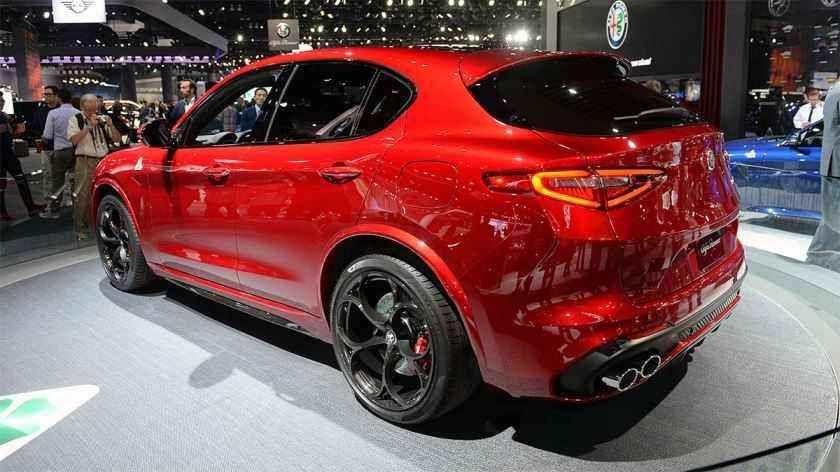 2019 2020 Alfa Romeo Stelvio Primeiro Crossover Alfa Romeo Preco