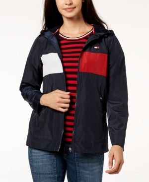 Tommy Jeans Womens Hooded Outdoor Gilet