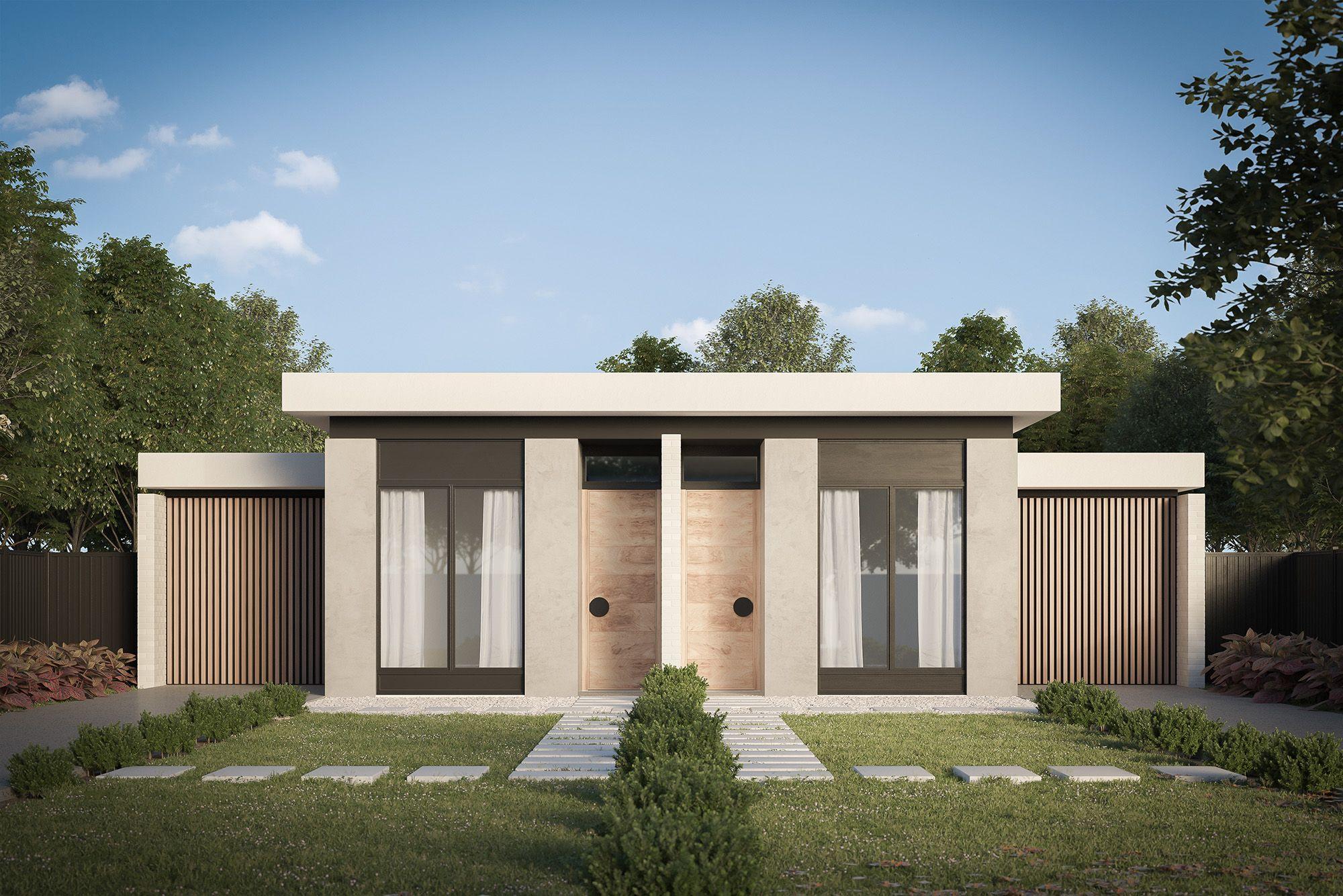Mink Homes - Duplex Designs - Melbourne, Victoria — rdvisualisation | 3D Rendering & Architectural Virtual Tour Rendering Gold Coast, Brisbane, Sydney, Melbourne, Perth