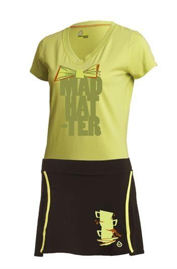 Mad Hatter Running Skirt Raw Threads   Girl on the Run   Run