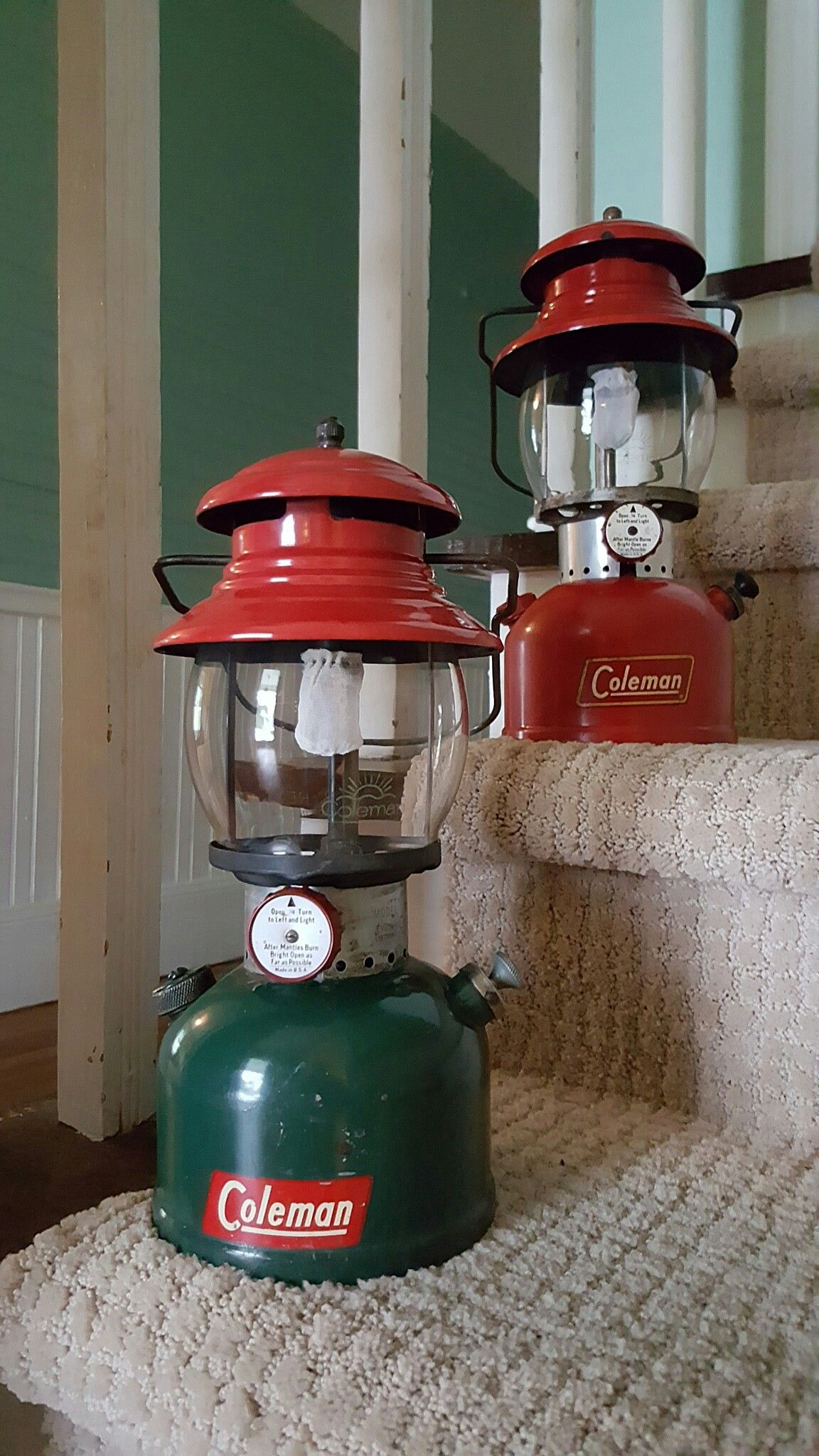 replacement parts for coleman lanterns are at cottage craft works