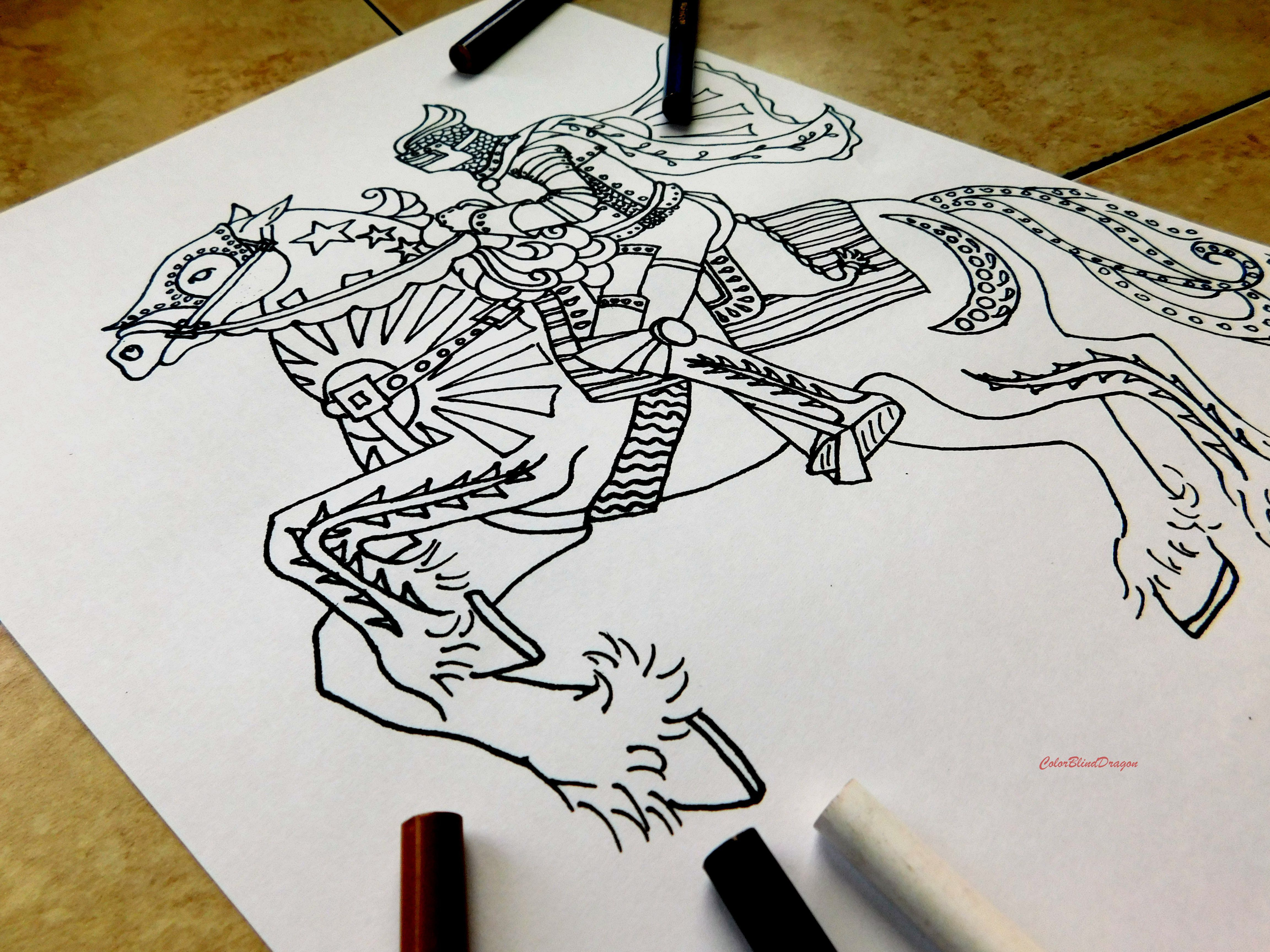Horse Coloringpage Knight Coloring Page Midevil Dark Ages Riding Gallop Chivelry Saddle Cape Horse Coloring Pages Horse Coloring Coloring Pages [ 3456 x 4608 Pixel ]