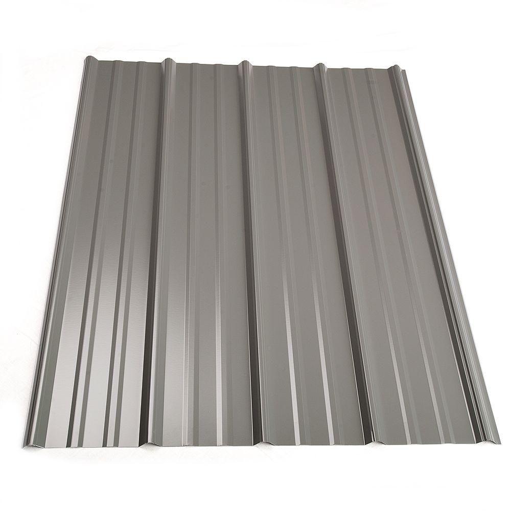 Metal Sales 16 ft. Classic Rib Steel Roof Panel in