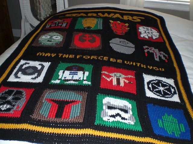Star Wars Knitting Charts and more Star Wars knitting patterns