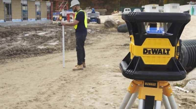 How To Use A Laser Level For Grading Rotary Being Used Amazing Shopping