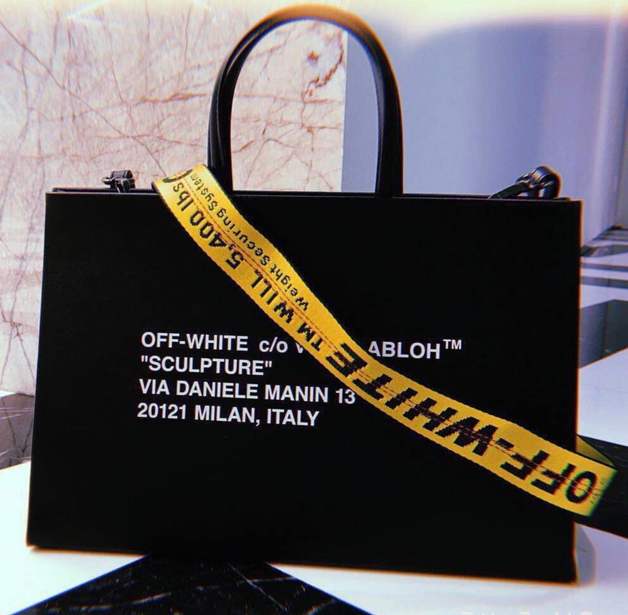 5959f4a0da96b8 FW18 OFF-WHITE 'Box Bag' | B A G S in 2019 | Bags, Fashion bags, Off ...