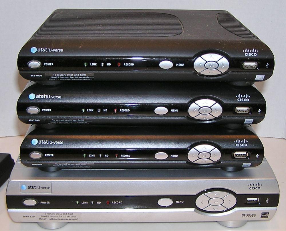 AT&T U-VERSE CISCO Wireless HDTV Receiver ISB7005 ISB7000 IPN4320