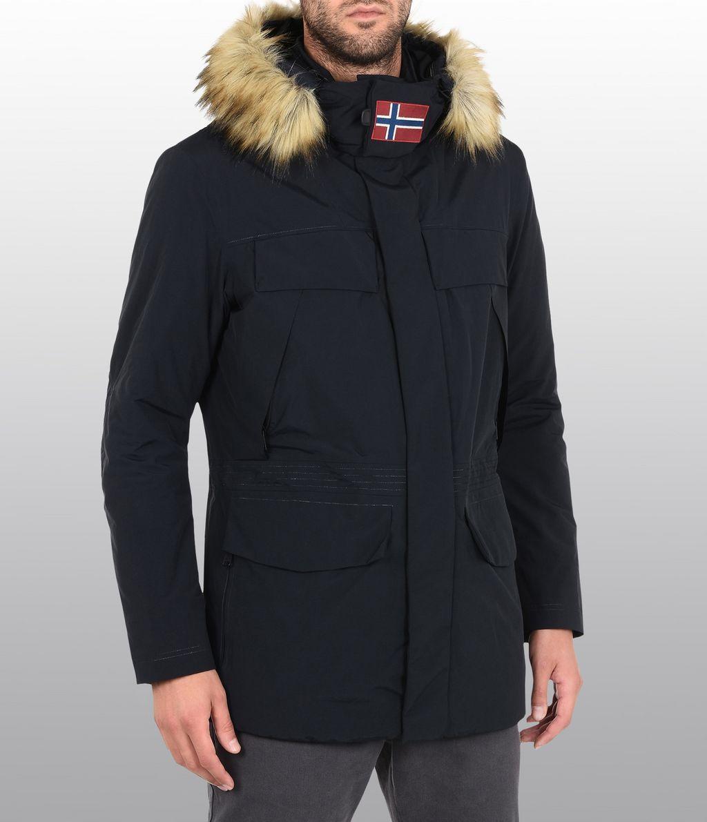 Napapijri Napapijri Skidoo Open Jacket Racoon Fur M Size M $100