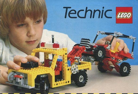 1982 Medium Lego Catalogue – Technic | Lego Catalogues