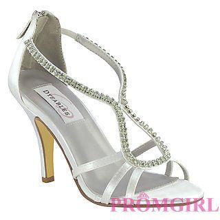 4ec72432e84 Josie White at PromGirl.com  promgirl  shoes  heels