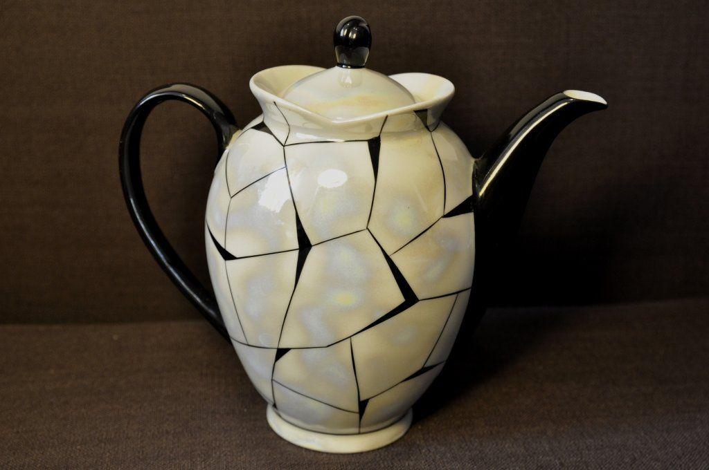 Dzbanek Picasso Chodziez Cmielow Prl 6219478564 Oficjalne Archiwum Allegro China Design Design Tea Pots