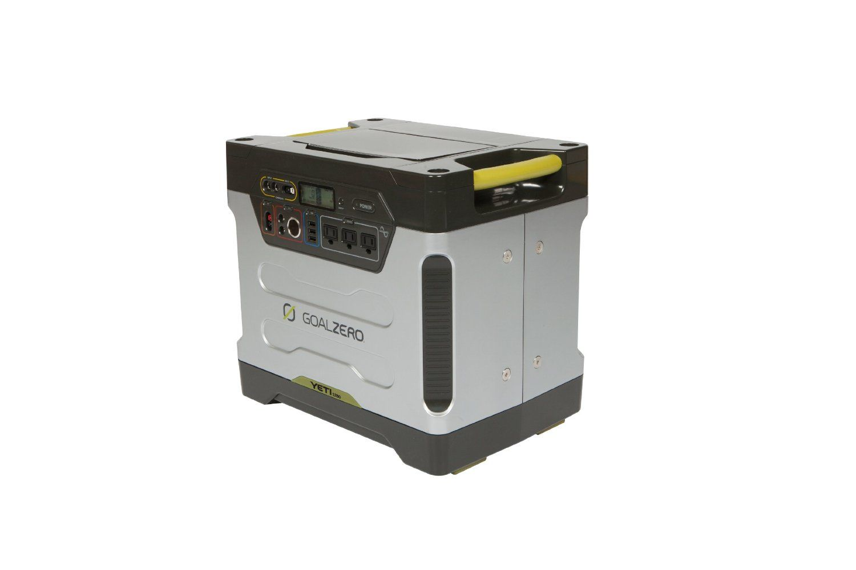 Goal Zero Yeti 1250 Review Portable Solar Generator Solar Generator Backup Generator