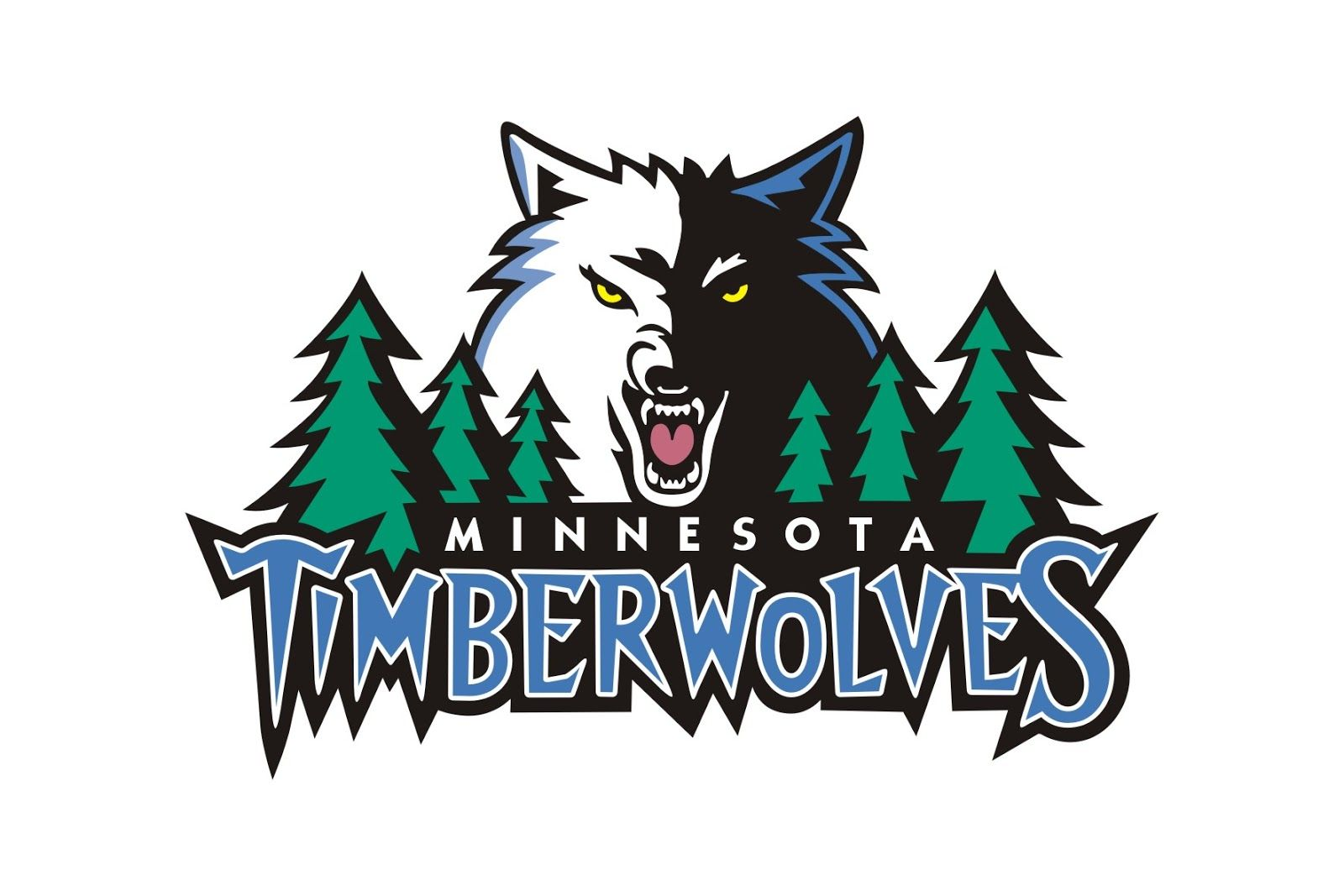 images of the MINNESOTA timberwolves football team logos