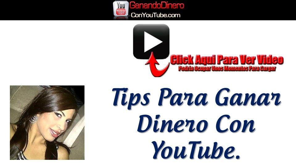 Ganar Dinero YouTube.