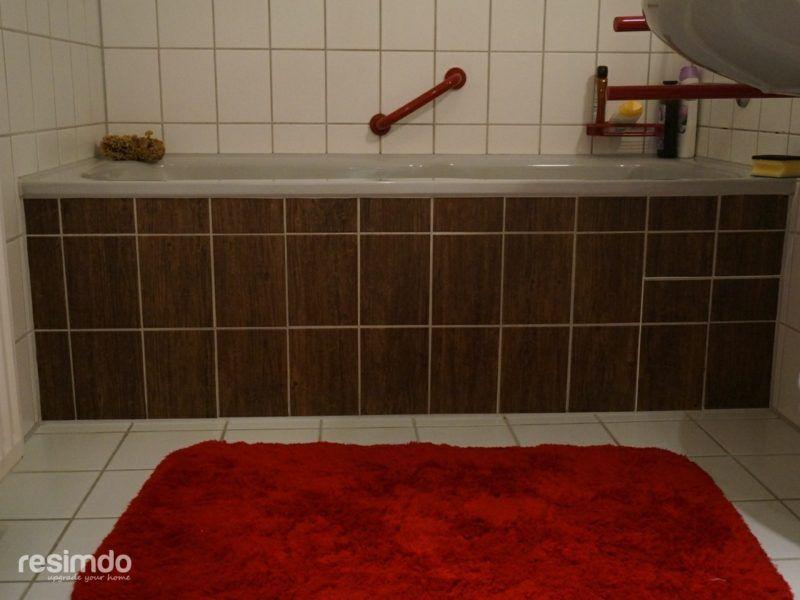 Das Bad Und Die Kuche Effektvoll Renovieren Fliesen Uberkleben Holzoptik Gold Fliesenfolie Folie W Badezimmer Fliesen Badezimmerboden Fliesen Uberkleben