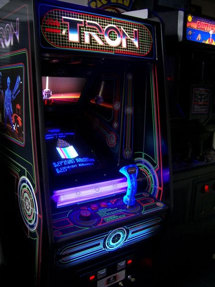 Tron the video game. Spent hours and hours on this. | Childhood ...